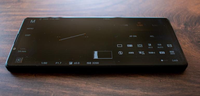 Sony Xperia 1 III camera pro app