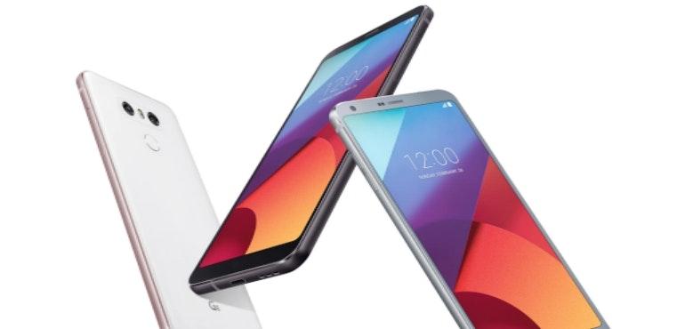 LG G6 angled hero