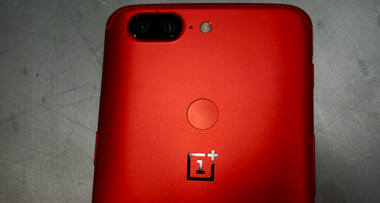 OnePlus red edition back