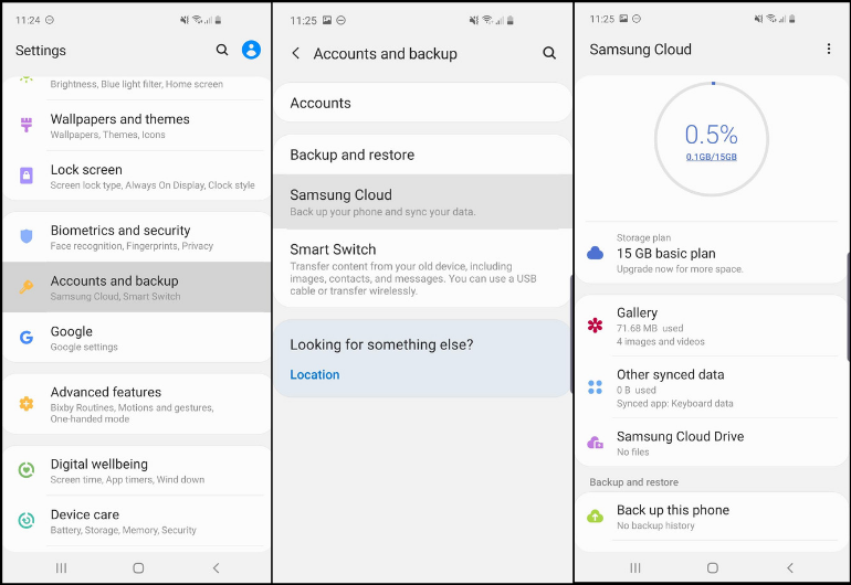 S10 Tips - Samsung Cloud