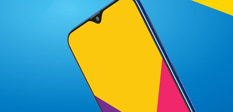 Samsung Galaxy A50 comes with notch design