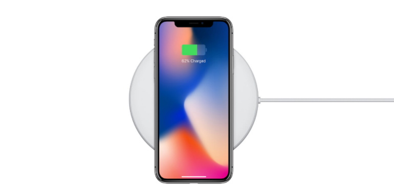 iPhone X wireless charging hero image