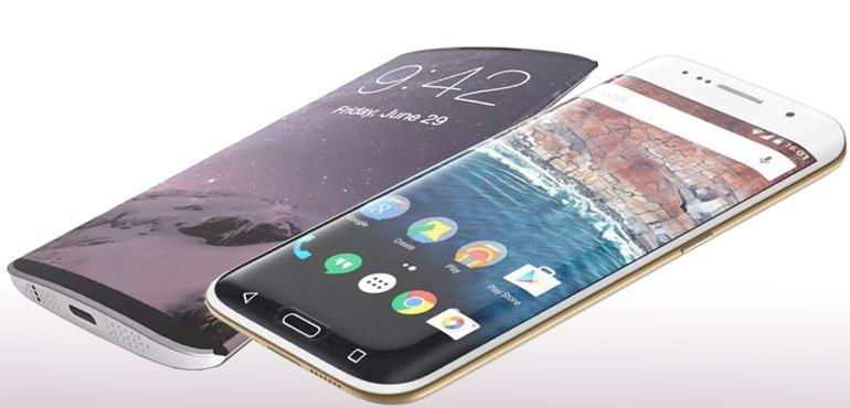 iPhone8 vs Galaxy S8
