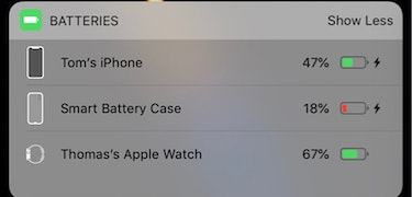 iPhone XS Smart Battery Case hinted at again in iOS 12