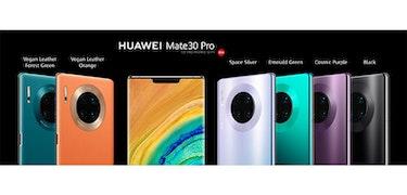 Huawei Mate 30 series revealed