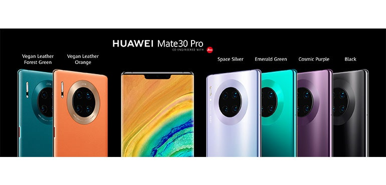 Huawei Mate 30 series revealed