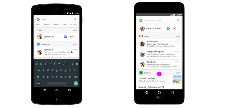 Google launches In Apps search tool for Android