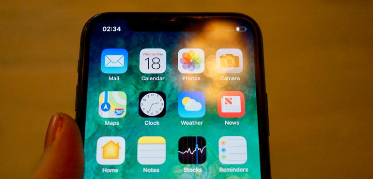 iPhone apps heat