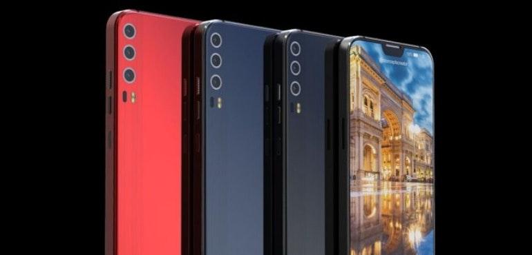 Huawei P11 concept triple lens camera