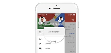 Gmail for iOS now allows you to see all accounts in one inbox