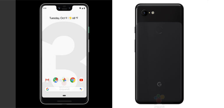 Google Pixel 3 leaks yet again, shows off business-scanning smarts