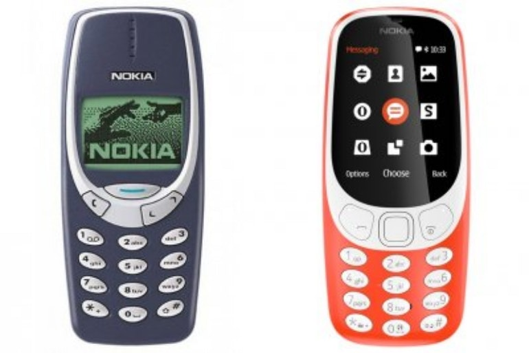 Nokia 3310 old Vs new screen