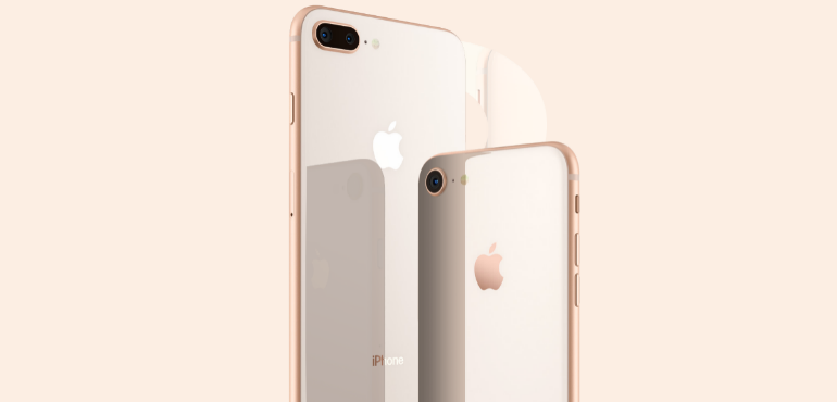 iPhone 8 and 8 Plus cameras hero size
