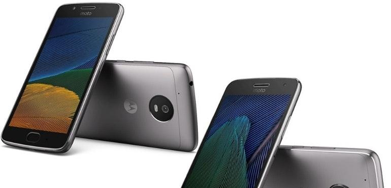 Motorola Moto G5 hero