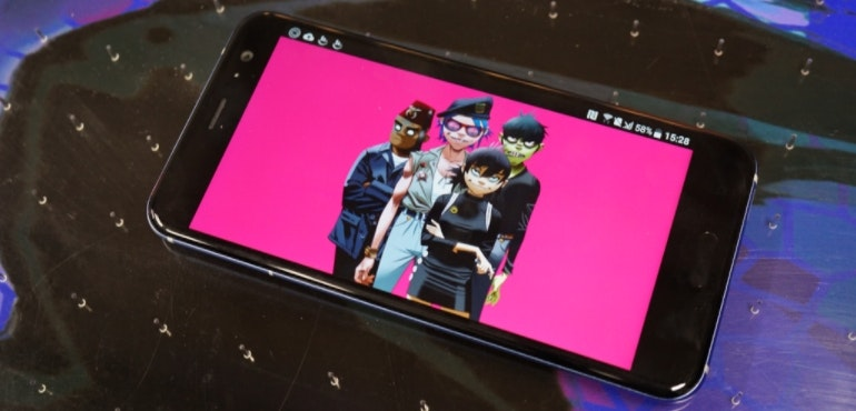 HTC U11 Gorillaz screen hero image