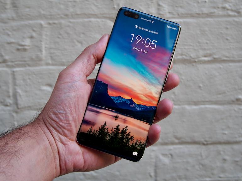 Huawei P40 Pro+ screen