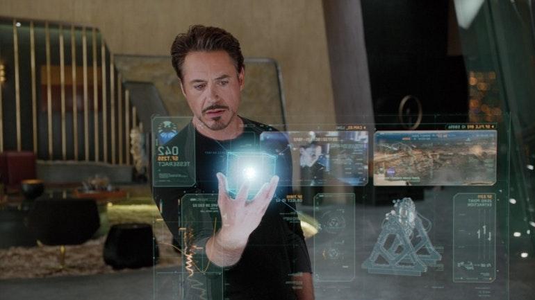 Ironman hologram