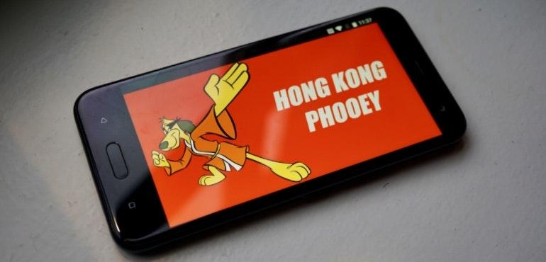 HTC U11 Life screen Hong Kong Phooey hero size