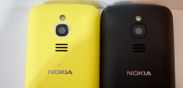 Nokia 8110 yellow and black backs hero size
