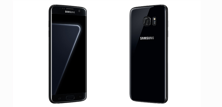 Samsung Galaxy S7 Edge Black Pearl official