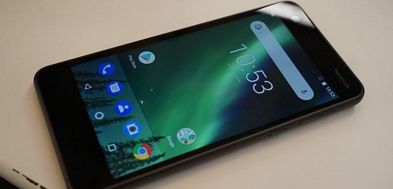 Nokia 2 angled