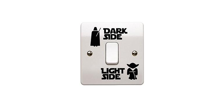 Star Wars light sticker