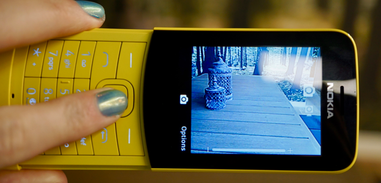 Nokia 8110 camera hero size