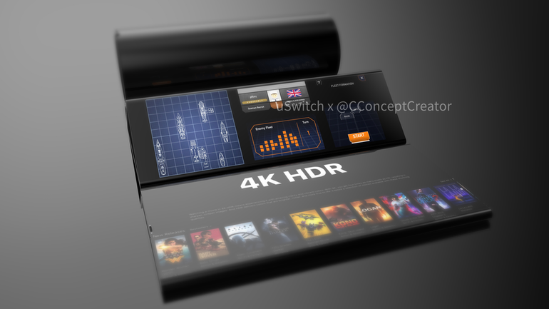 Foldable iPhone concept dual screen