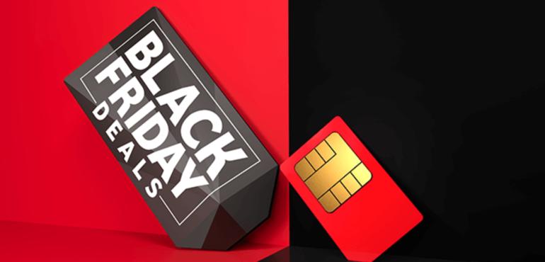 Vodafone Black Friday hero image