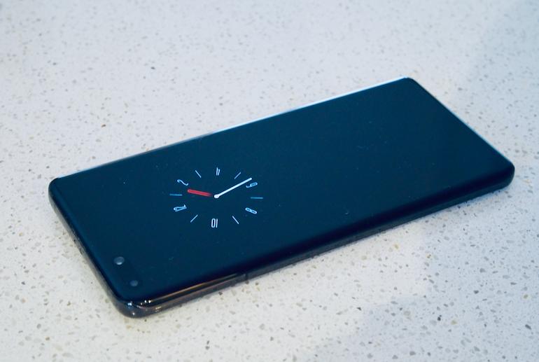 Huawei P40 Pro clock