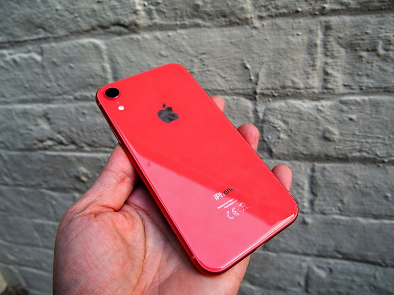 iPhone XR back red