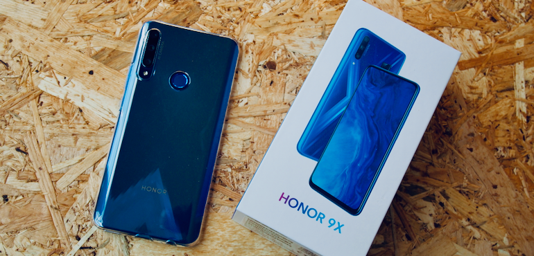 Buy an Honor 9X, get a free Honor Band 5