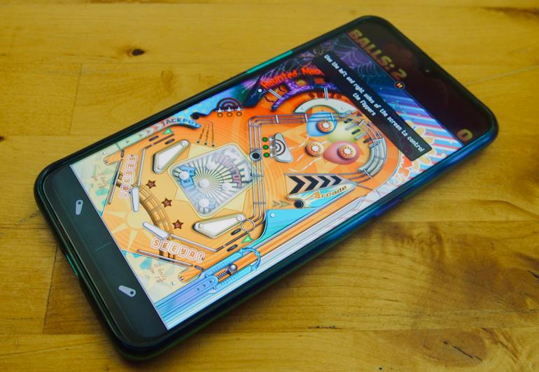 Oppo RX17 Pro pinball screen