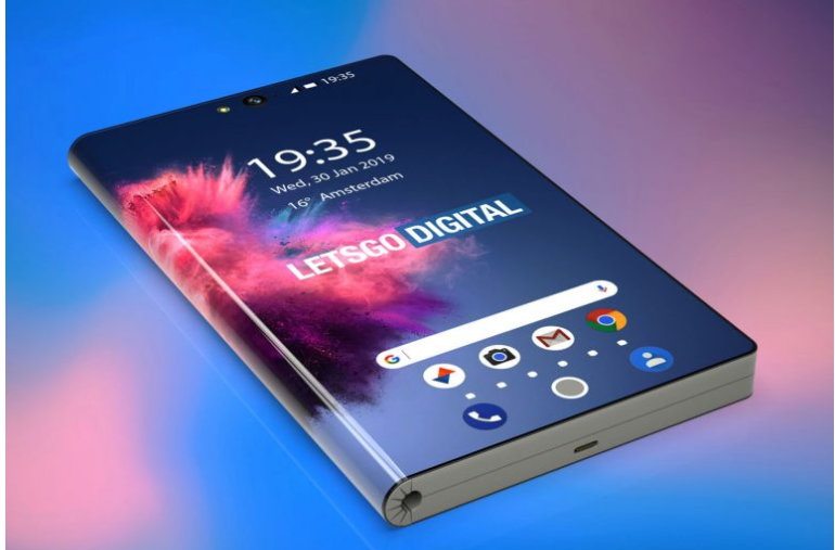 Huawei 5G folding phone smartphone form