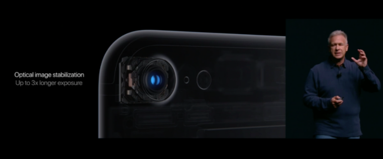 iPhone 7 optical image stabilisation