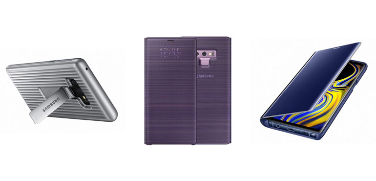 The official Samsung Galaxy Note 9 cases are already on sale