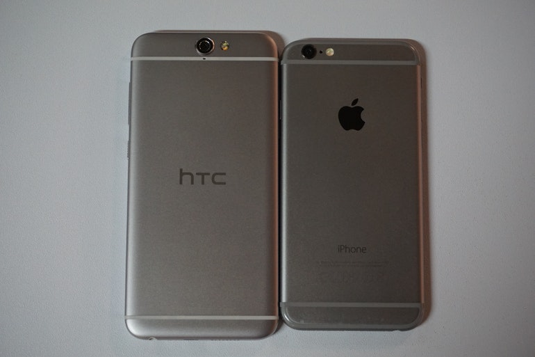 HTC One A9 v Apple iPhone 6s