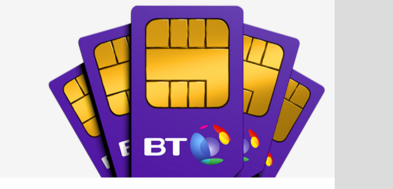 BT Mobile phone contract plans