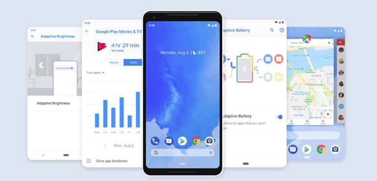 Android Pie about to land on the Samsung Galaxy S8 and Note 8
