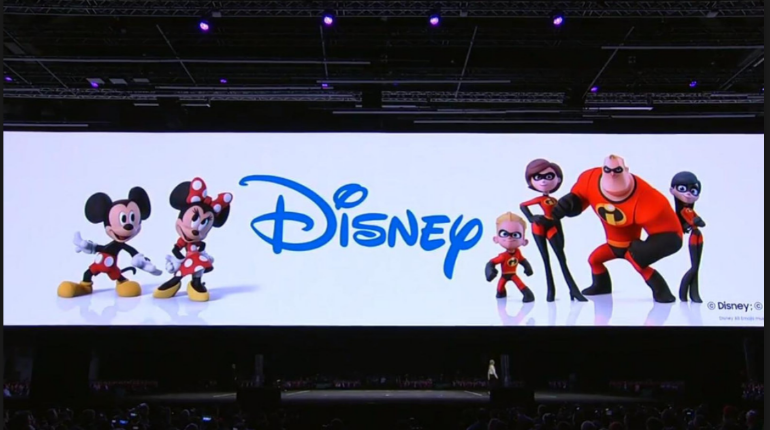 Samsung S9 Disney announcement animojis