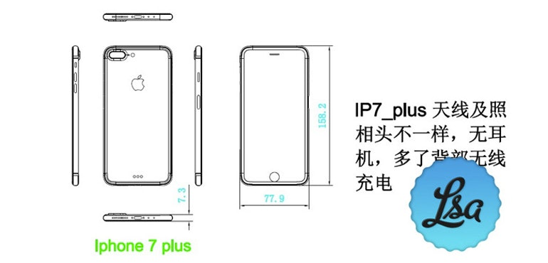 width of iphone 6 plus iphone 7 leaks reveal dimensions of new device 18261