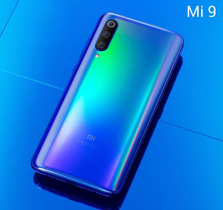 Xiaomi mi9 front