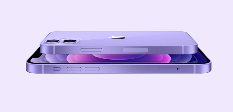 Purple iPhone 12 hero size