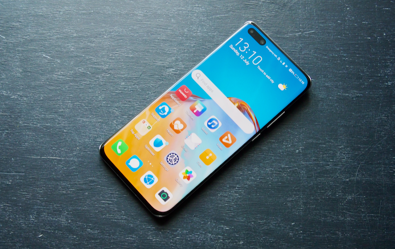 Huawei P40Pro+ screen 2