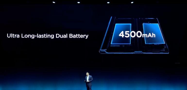 Huawei Mate X battery launch hero size