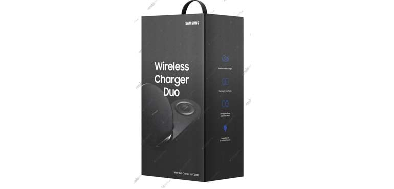 Samsung Wireless Charger Duo leak