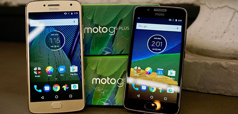 Motorola Moto G5 review hero