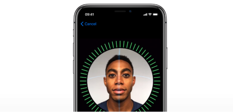 iPhone X FaceID security working hero image