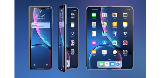 Apple foldable iPhone teased in new renders