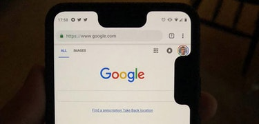 This glitch gives the Google Pixel 3 XL a second notch